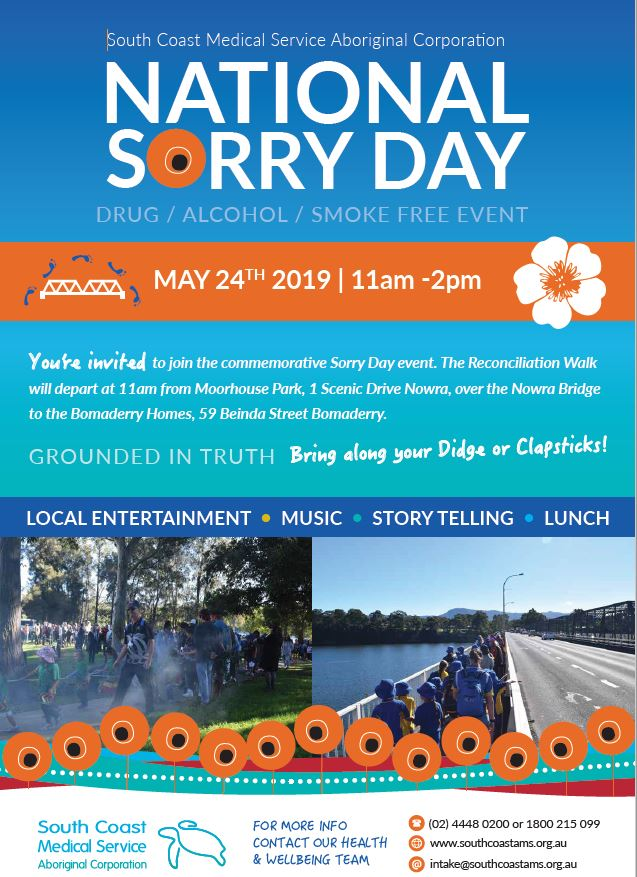 National Sorry Day South Coast AMS