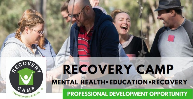 Funded placements are still available for health professionals to attend Recovery Camp!