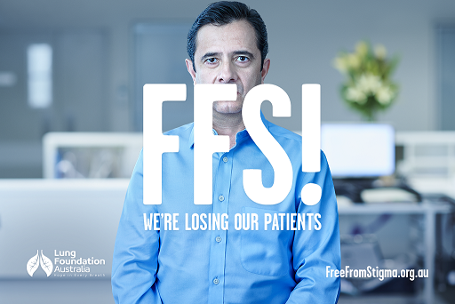 Free From Stigma (FFS!) campaign for lung cancer awareness