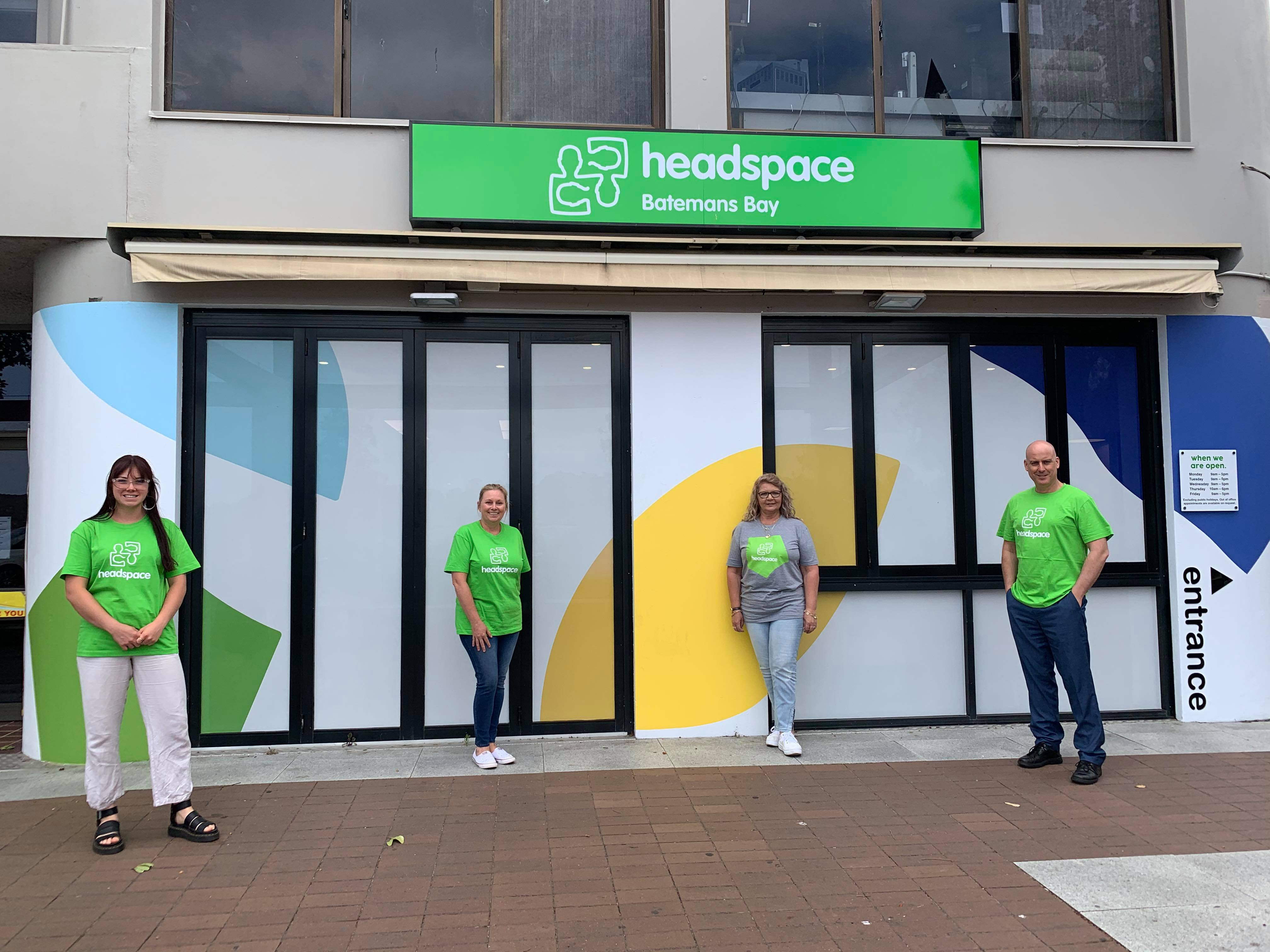 New year and new place for headspace Batemans Bay