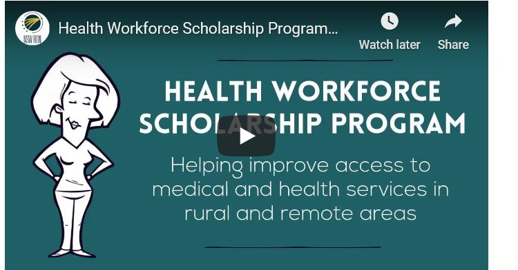 Up to $10,000 in funding available via the Health Workforce Scholarship Program!