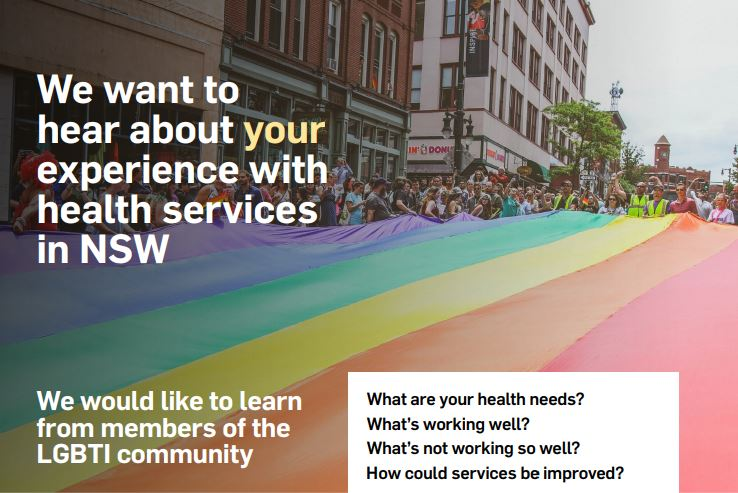 Development of the NSW LGBTI Health Strategy