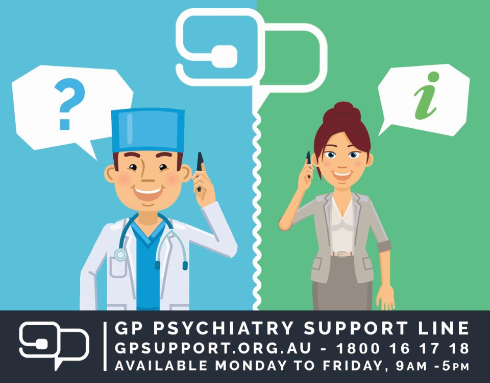 GP  Psychiatry Support Line has 500 users and counting!