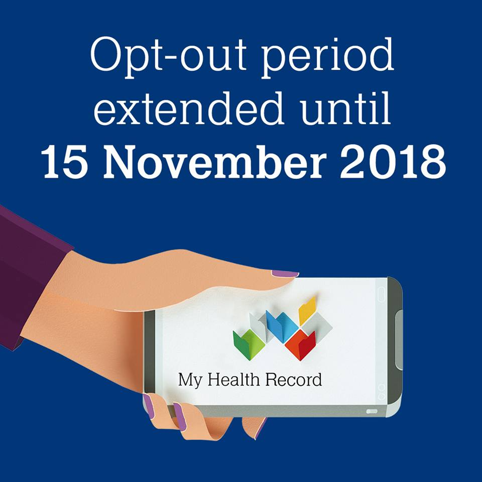 My Health Record opt-out period extended