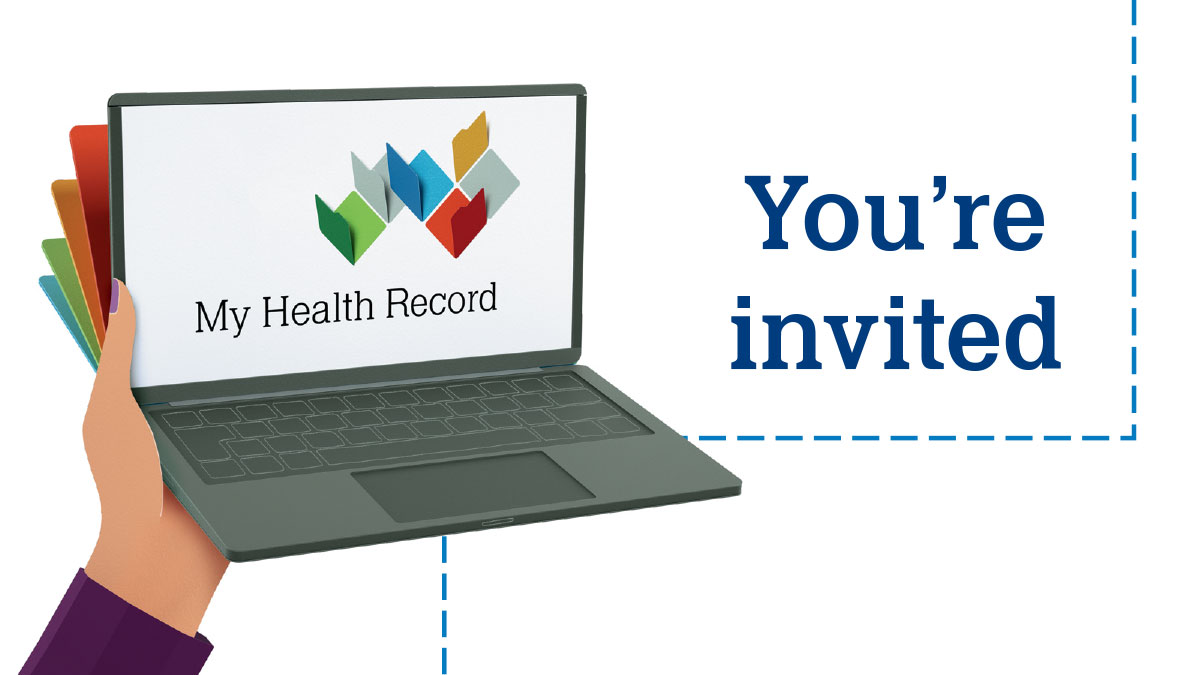 Opportunity for community members to learn about My Health Record
