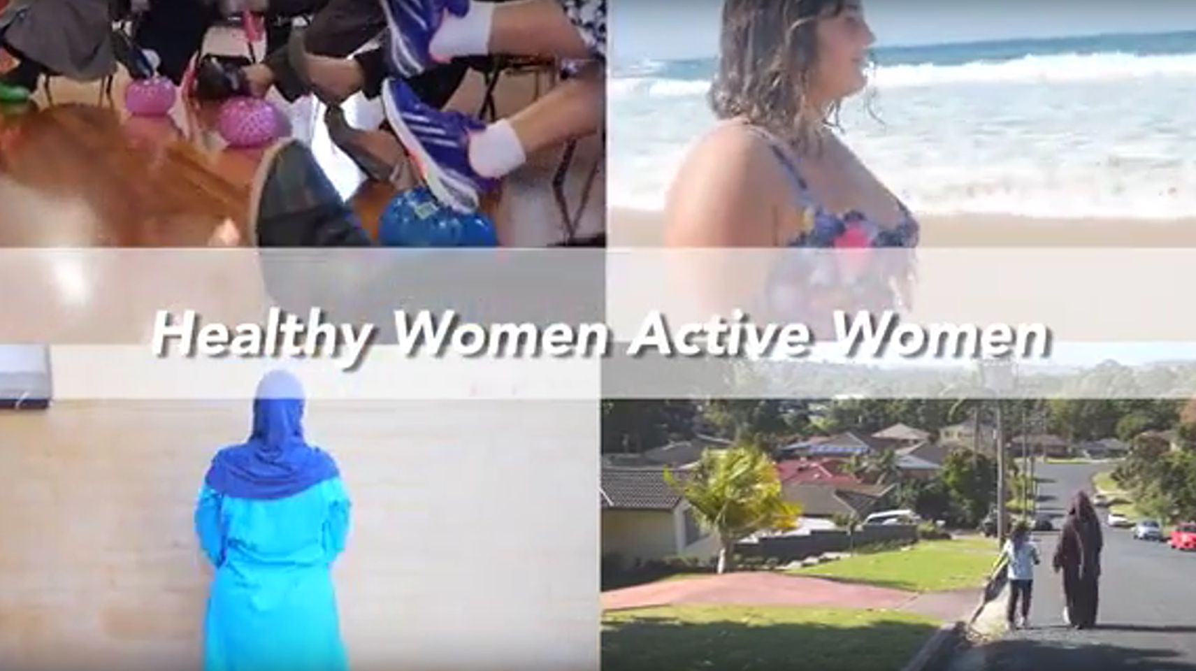 Healthy Women Active Women
